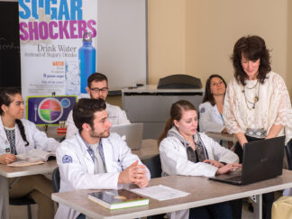 Dietary Technician students taking classes