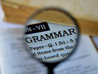 grammar magnifier magnifying glass