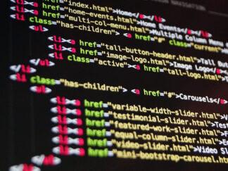 html digital coding web